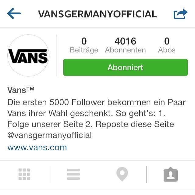 Ich freue mich schon auf meine neuen VANS. :-) @vansgermanyofficial