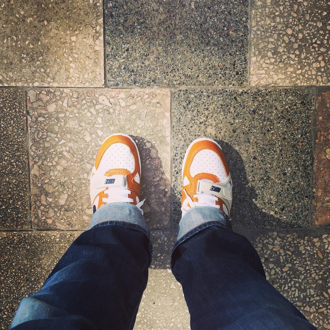 Schönes Wetter, schöne Schuhe.
