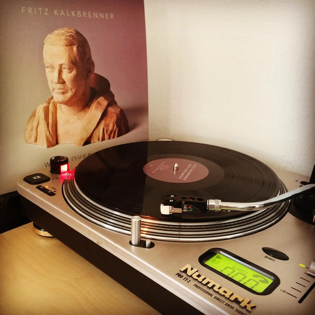 Kalkbrenner. #vinyl #nowspinning