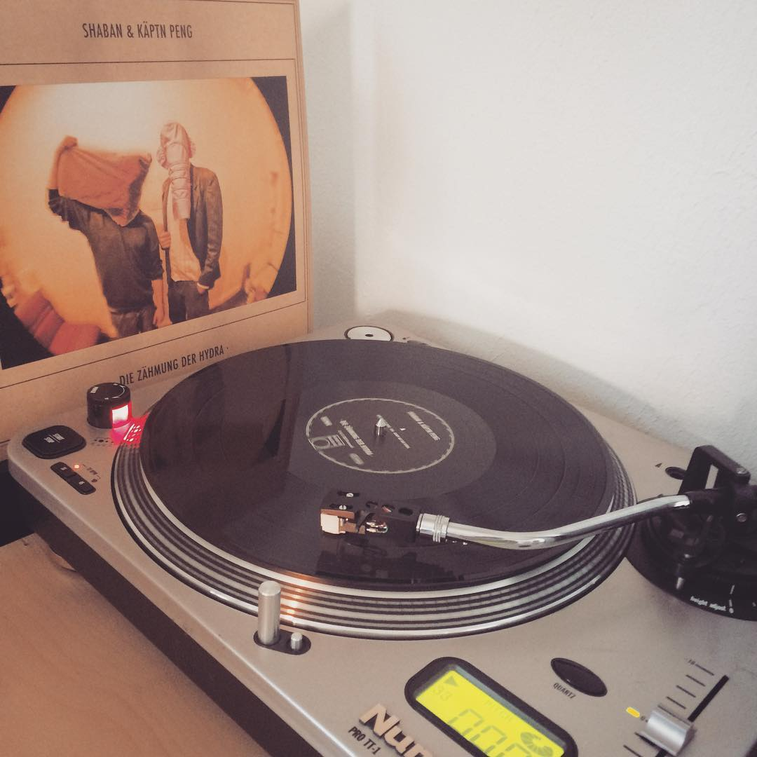 Shaban & Käptn Peng #vinyl #nowspinning #käptnpeng