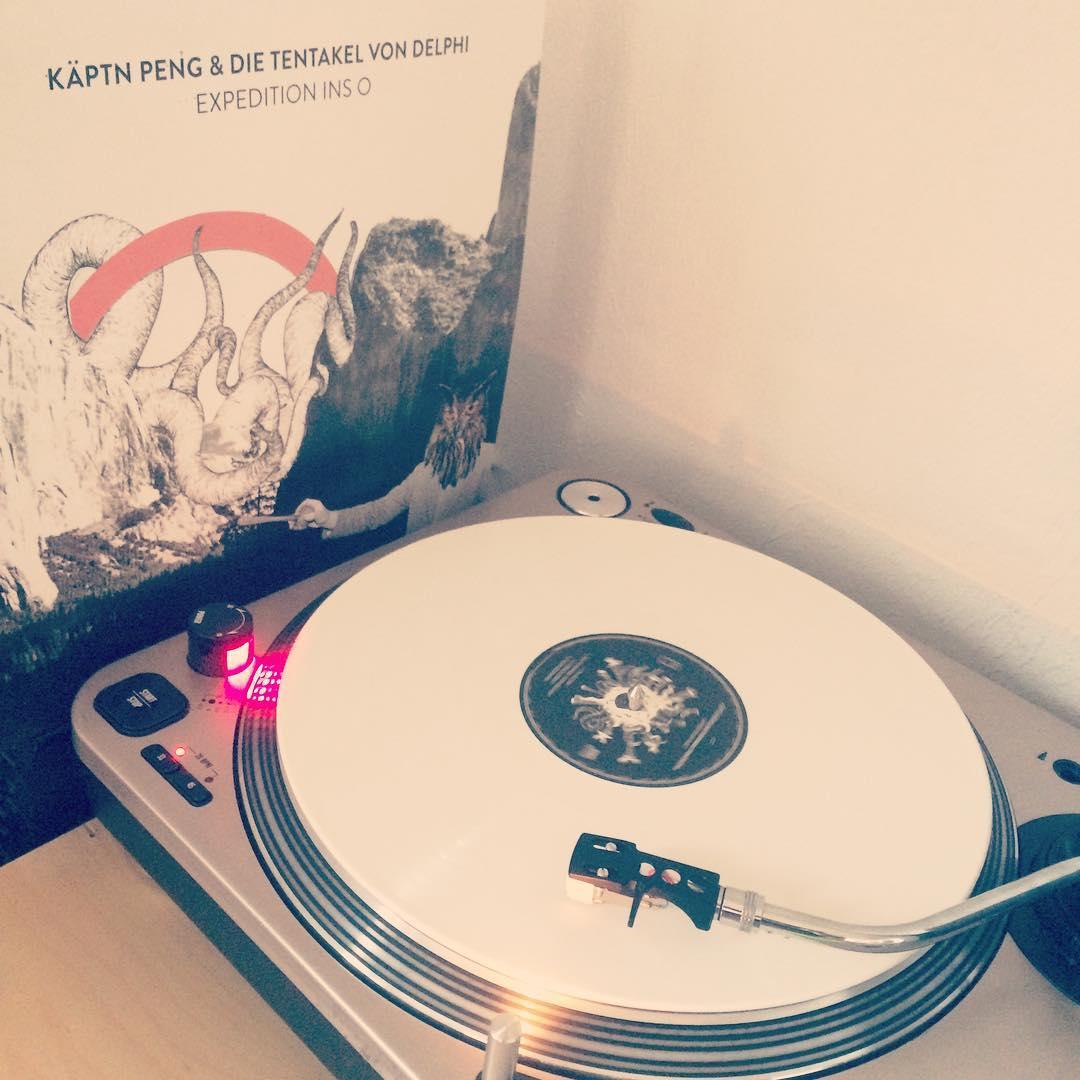 Expedition ins O mal noch schnell bevor die neue auf den Teller kommt. #vinyl #nowspinning #käptnpeng
