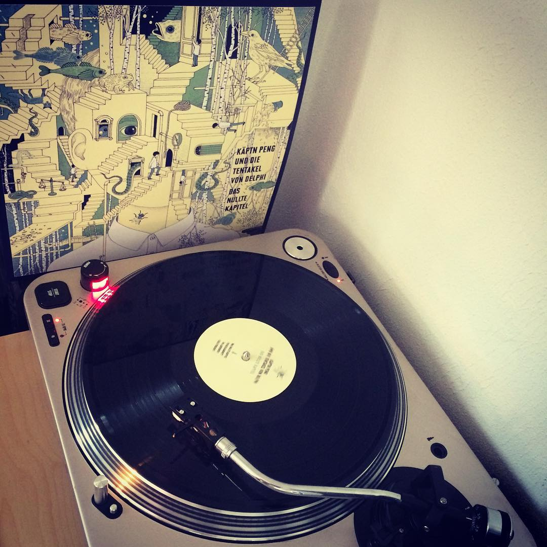 Jetzt aber. Das nullte Kapitel. #nowspinning #vinyl #käptnpeng