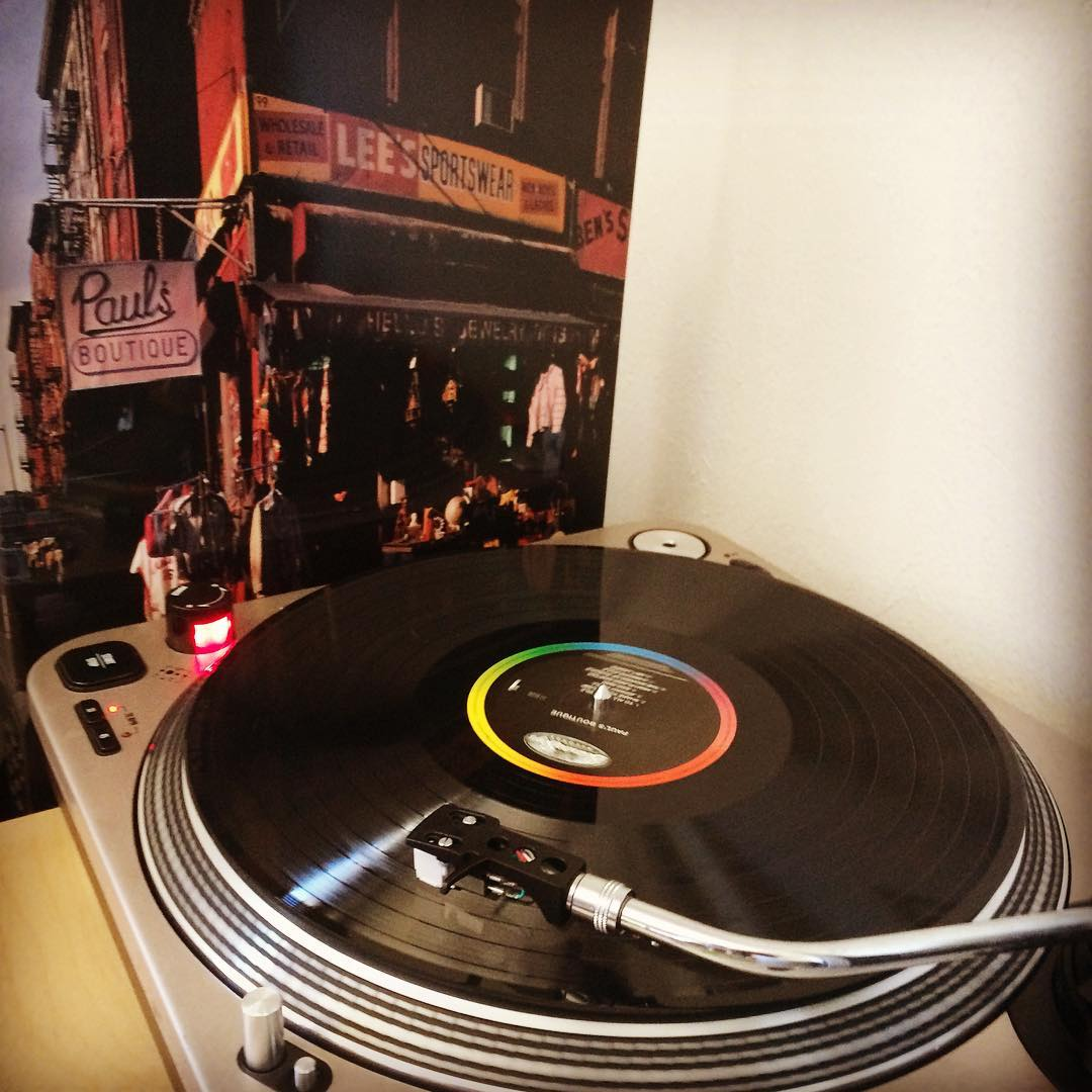 Paul's Boutique #vinyl #nowspinning #beastieboys