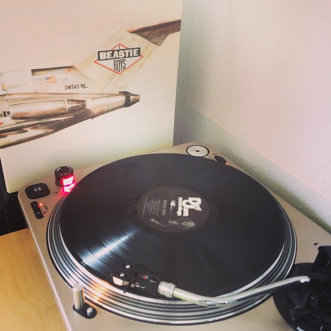 Licensed to ill #vinyl #nowspinning #beastieboys
