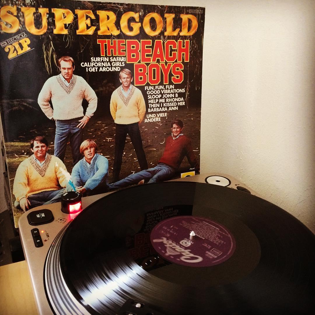 The Beach Boys #nowspinning #vinyl #thebeachboys