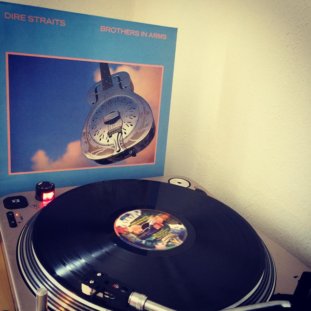 Brothers in Arms #nowspinning #vinyl #direstraits