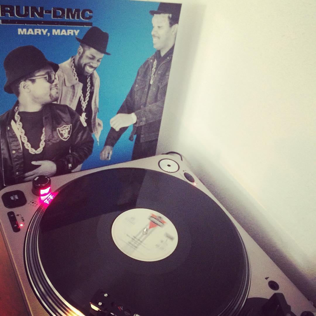 Mary, Mary #nowspinning #vinyl #rundmc