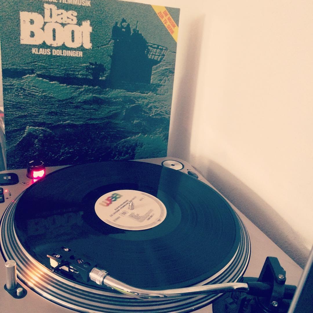 Das Boot #vinyl #nowspinning #KlausDoldinger #soundtrack