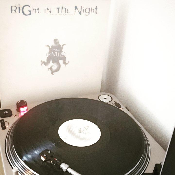 Right in the night #vinyl #nowspinning #JamAndSpoon #1993 #remix