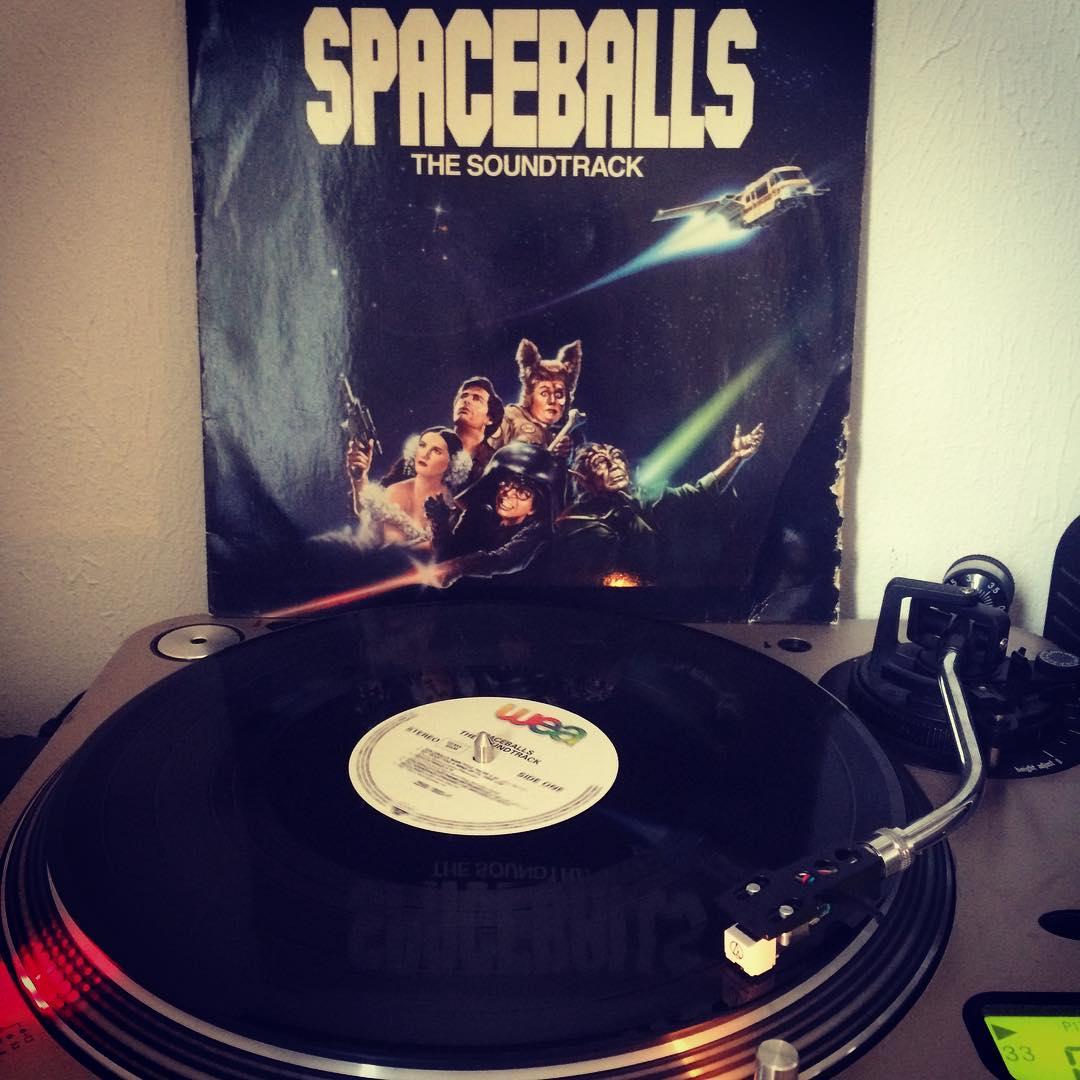 Spaceballs Soundtrack #vinyl #nowspinning #vinylporn #MelBrooks #JohnCandy #RickMoranis #1987
