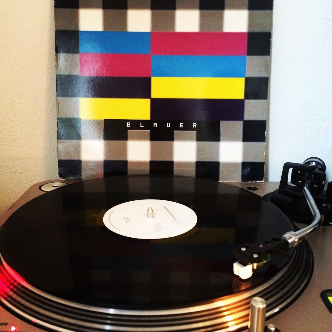Blauer Montag #NewOrder #BlueMonday #Hardfloor #Remix #1995 #vinyl #nowspinning