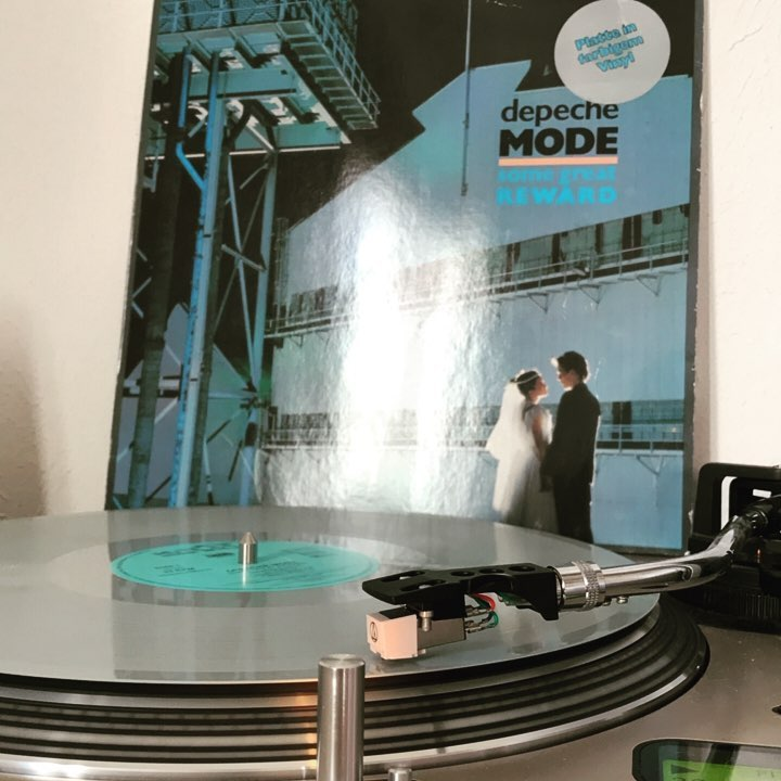 Some Great Reward #DepecheMode #Vinyl #Nowspinning #1984 #MuteRecords #SynthPop #Industrial #MartinGore #DavidGahan #AlanWilder #AndrewFletcher #ColoredVinyl