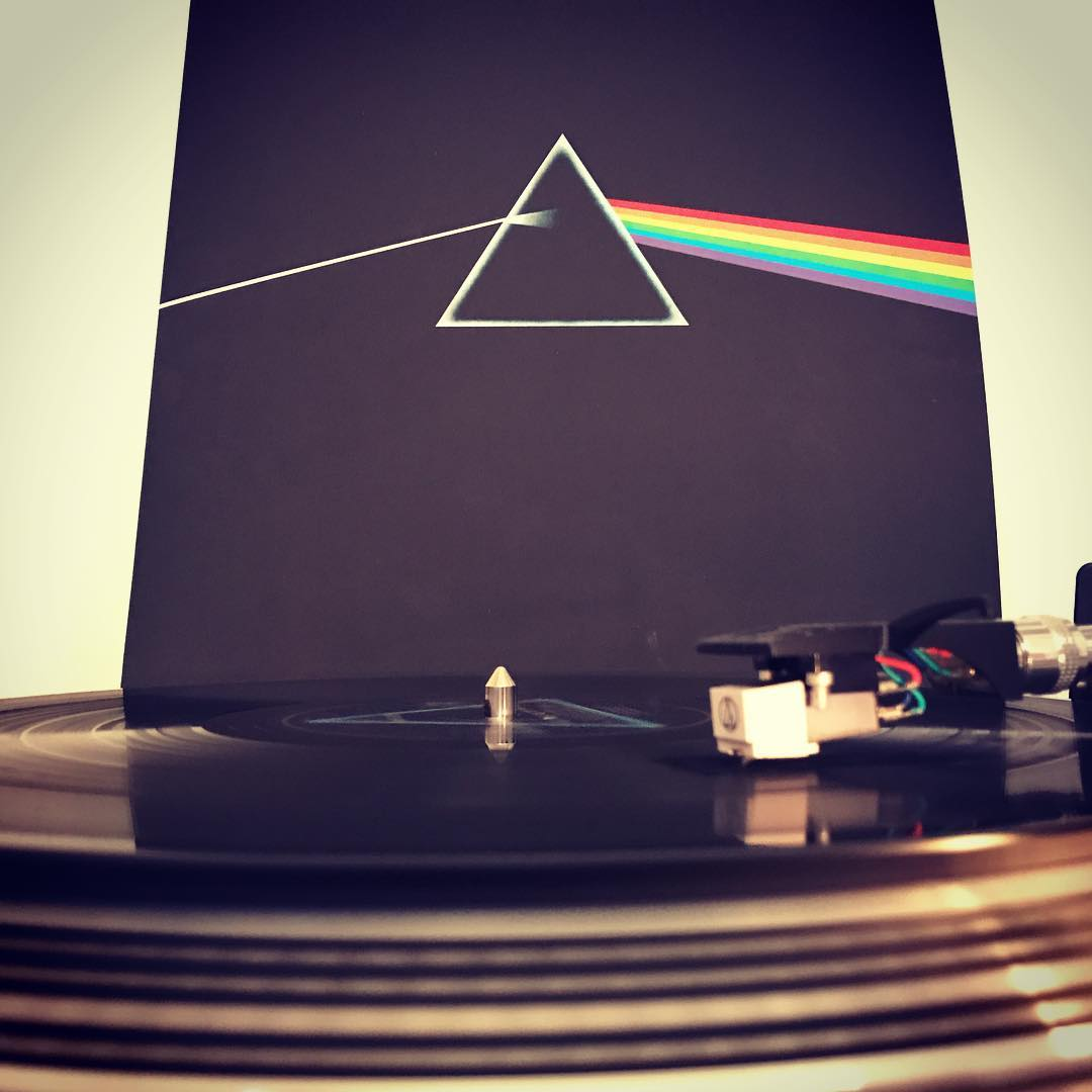 Dark Side If The Moon PinkFloyd #Vinyl #NowSpinning #1973 #Rock #ClassicRock #RogerWaters #DavidGilmour #RichardWright #NickMason #Reissue #2016 #OnMyTurntable