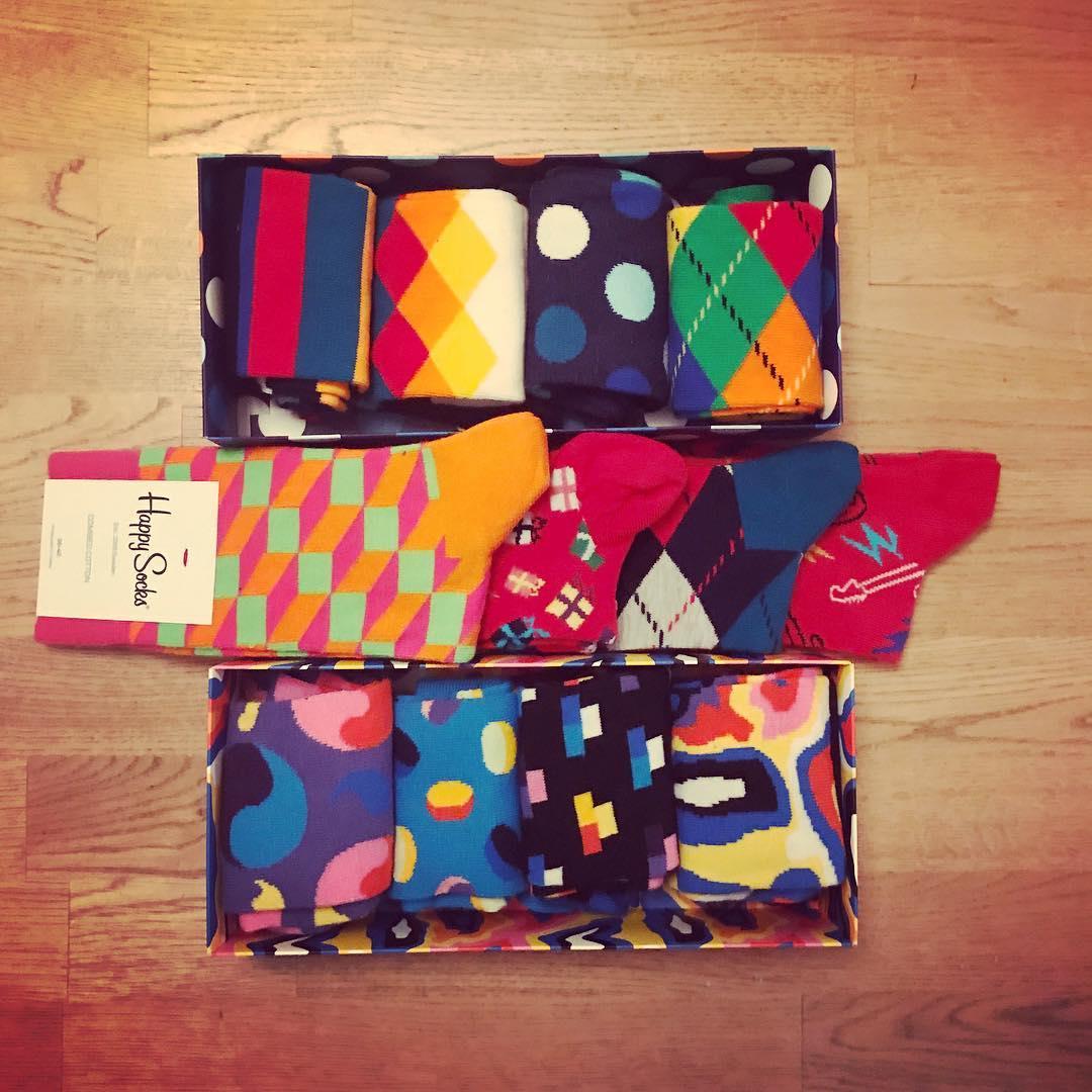 Socken schenken? Cool!! #HappySocks