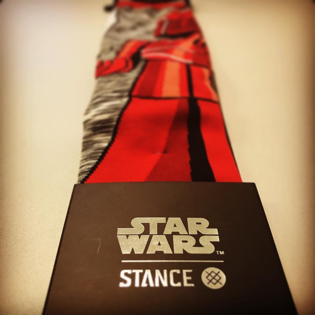 Geschenkte Socken? Hammer!!! #StarWars #Stance #StanceSocks