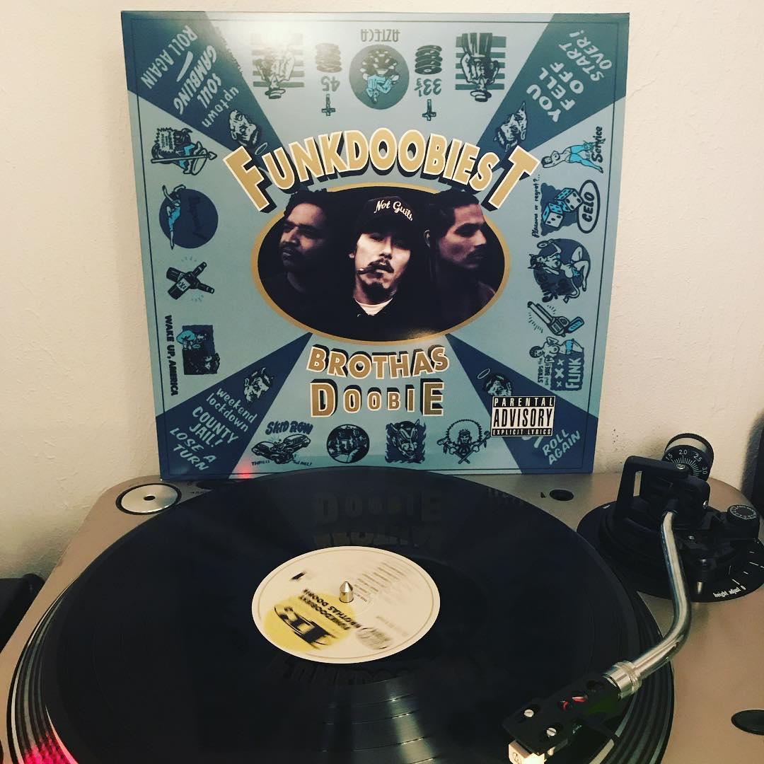 Brothas Doobie #FunkDoobiest #Vinyl #NowSpinning #OnMyTurntable #HipHop #33rpm #1995 #Reissue2016