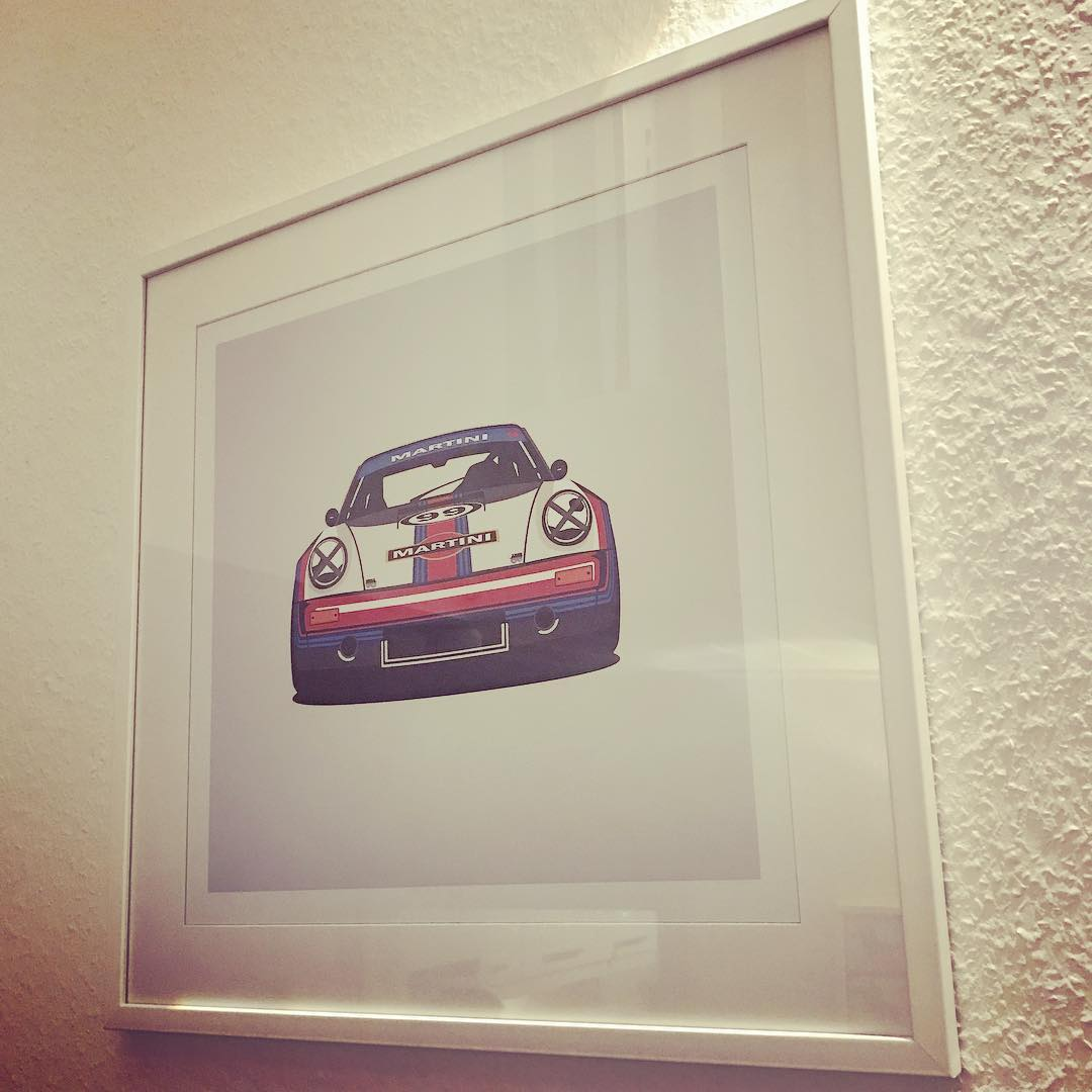 Amazing present from @mace2000 #porsche #MartiniRacing
