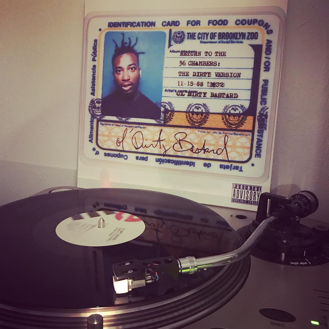 Return to the 36 chambers #OlDirtyBastard #NowSpinning #Vinyl #OnMyTurntable #HipHop #WuTang #1995