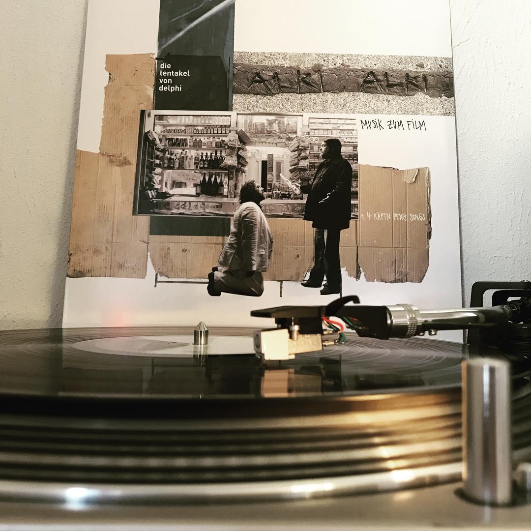 Alki Alki #DieTentakelVonDelphi #NowSpinning #OnMyTurntable #Vinyl #VinylLove #kreismusik #KaeptnPeng #Soundtrack