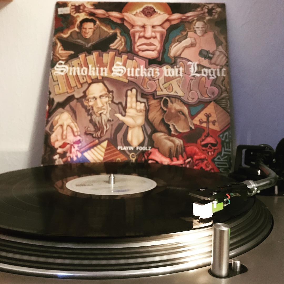 Playin' Foolz #SmokinSuckazWitLogic #vinyl #NowSpinning #OnMyTurntable #33rpm #HipHop #Discogs #1993