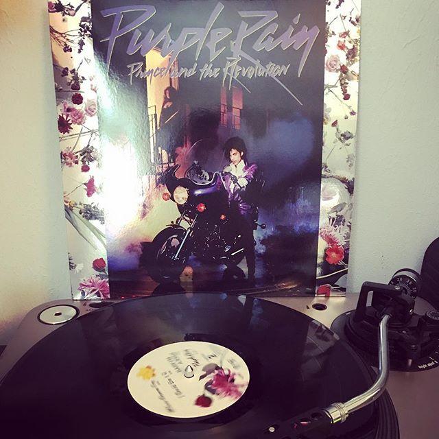 Purple Rain #PrinceAndTheRevolution #NowSpinning #OnMyTurntable #33rpm #Funk #Soul #Vinylgram