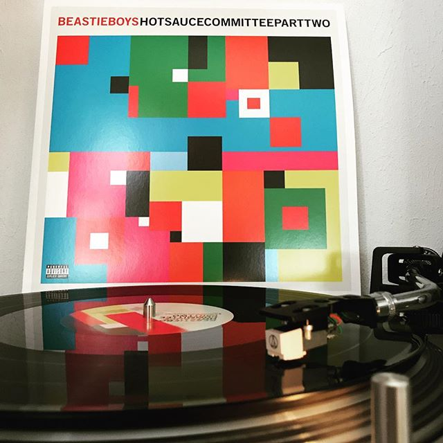 Hot Sauce Committee Part 2 #BeastieBoys #NowSpinning #Vinylgram #OnMyTurntable #33rpm #McA #AdRock #MikeD #HipHop