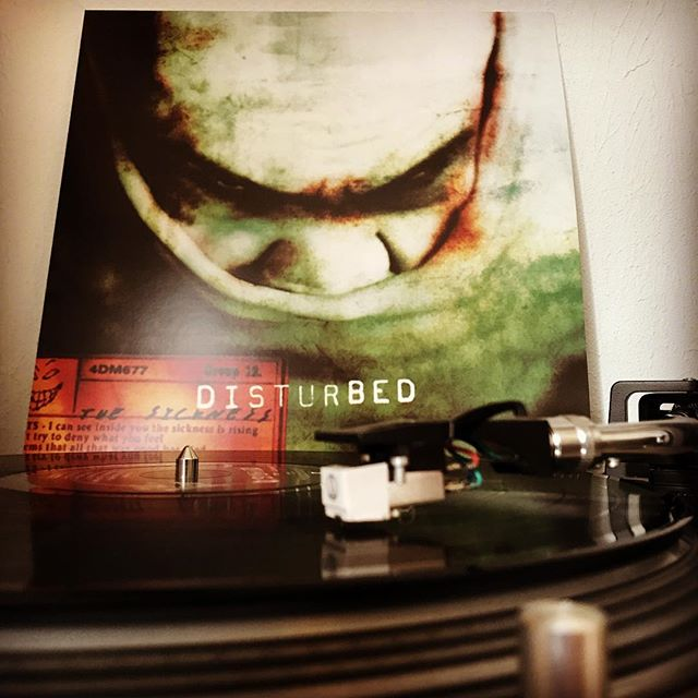 The Sickness #Disturbed #HardRock #Rock #NowSpinning #OnMyTurntable #Vinyl #33rpm