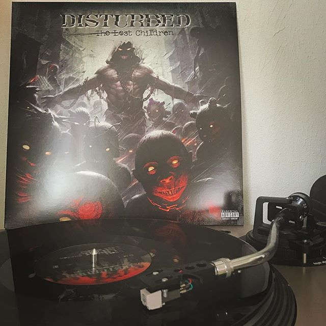 The Lost Children #Disturbed #HardRock #Rock #NowSpinning #OnMyTurntable #Vinyl #33rpm