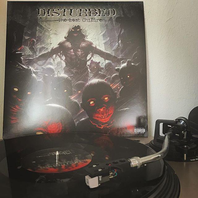The Lost Children #Disturbed #HardRock #Rock #NowSpinning #OnMyTurntable #Vinyl #33rpm