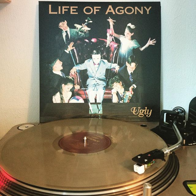 Ugly #LifeOfAgony #NowSpinning #OnMyTurntable #Vinyl #ColoredVinyl #Gold #LimitedNumberedEdition #449 #20Years