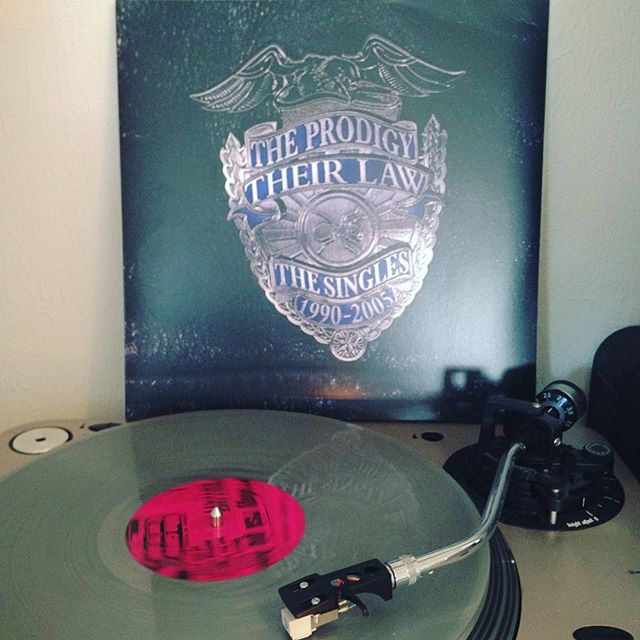 Their Law #TheProdigy #Vinyl #OnMyTurntable #LimitedEdition #ColoredVinyl #Silver