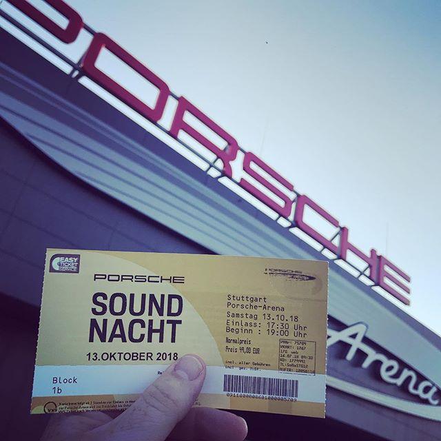 Abendprogramm für heute. #Porsche #Soundnacht #PorscheSoundnacht2018