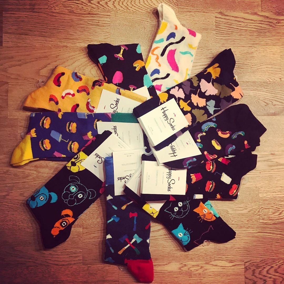 Alle Jahre wieder! Socken geschenkt bekommen ist cool. So cool! 😍#HappySocks