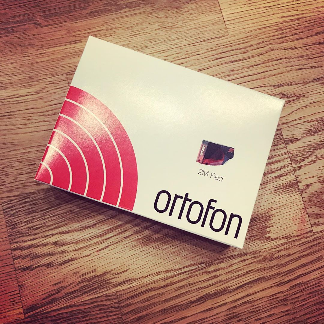 My brother gave me a new cartridge for Christmas!! He is crazy! 😘 #Vinyl #Ortofon #NoAdvertising