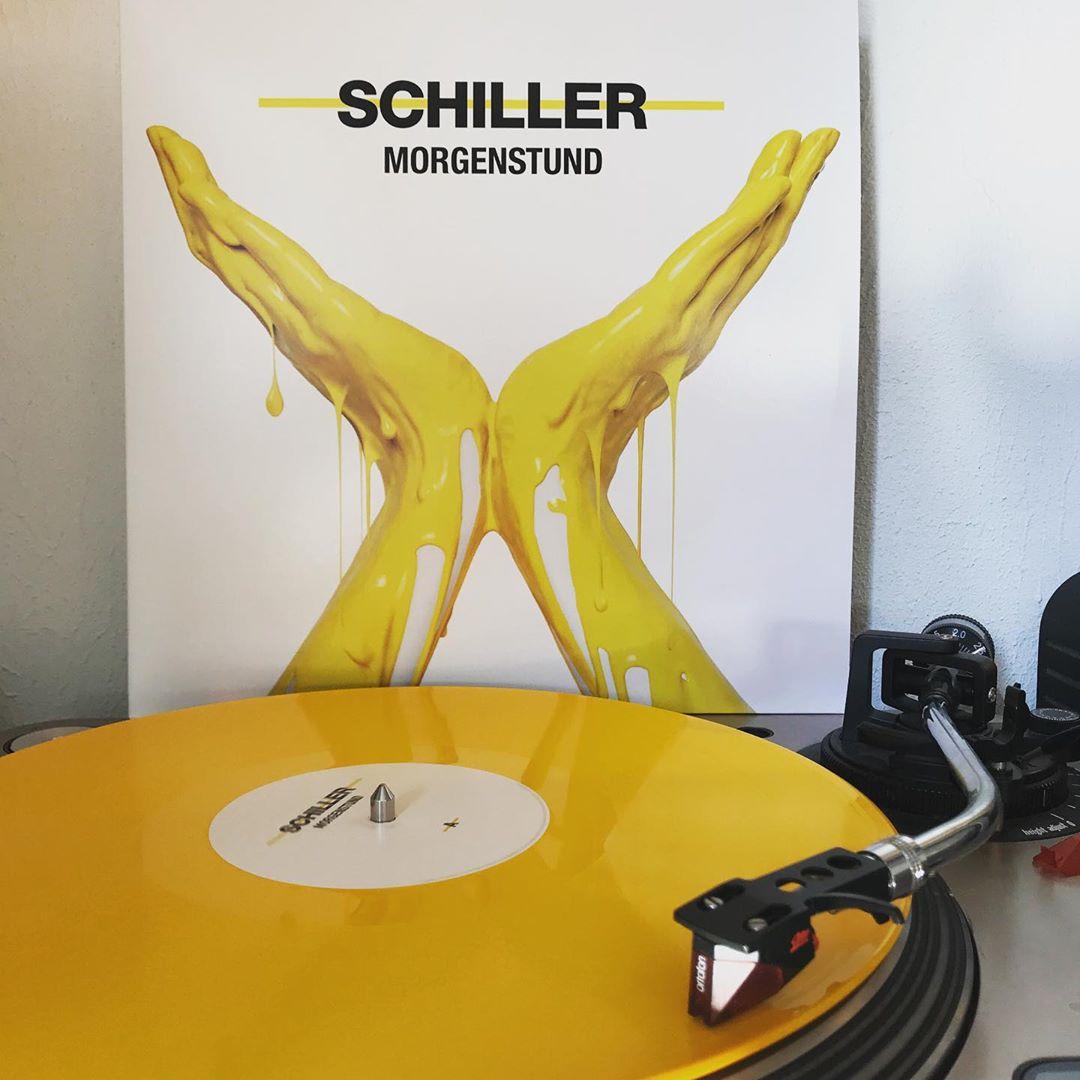 Morgenstund #Schiller #OnMyTurntable #NowSpinning #Vinylgram #ColoredWax #ColoredVinyl #ChristopherVonDeylen