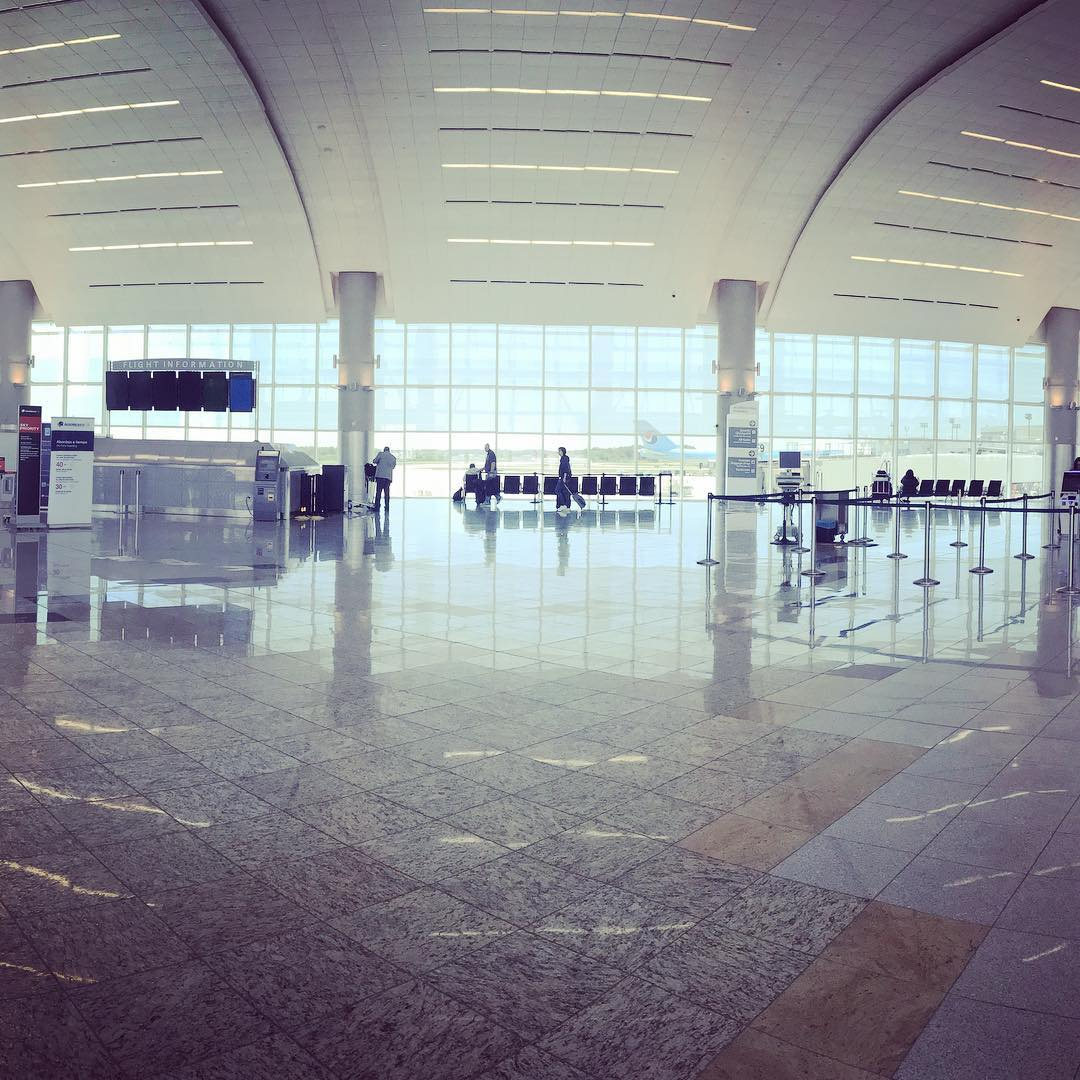 Gestern noch Atlanta, … #Atlanta #Flughafen #HartsfieldJackson #Airport