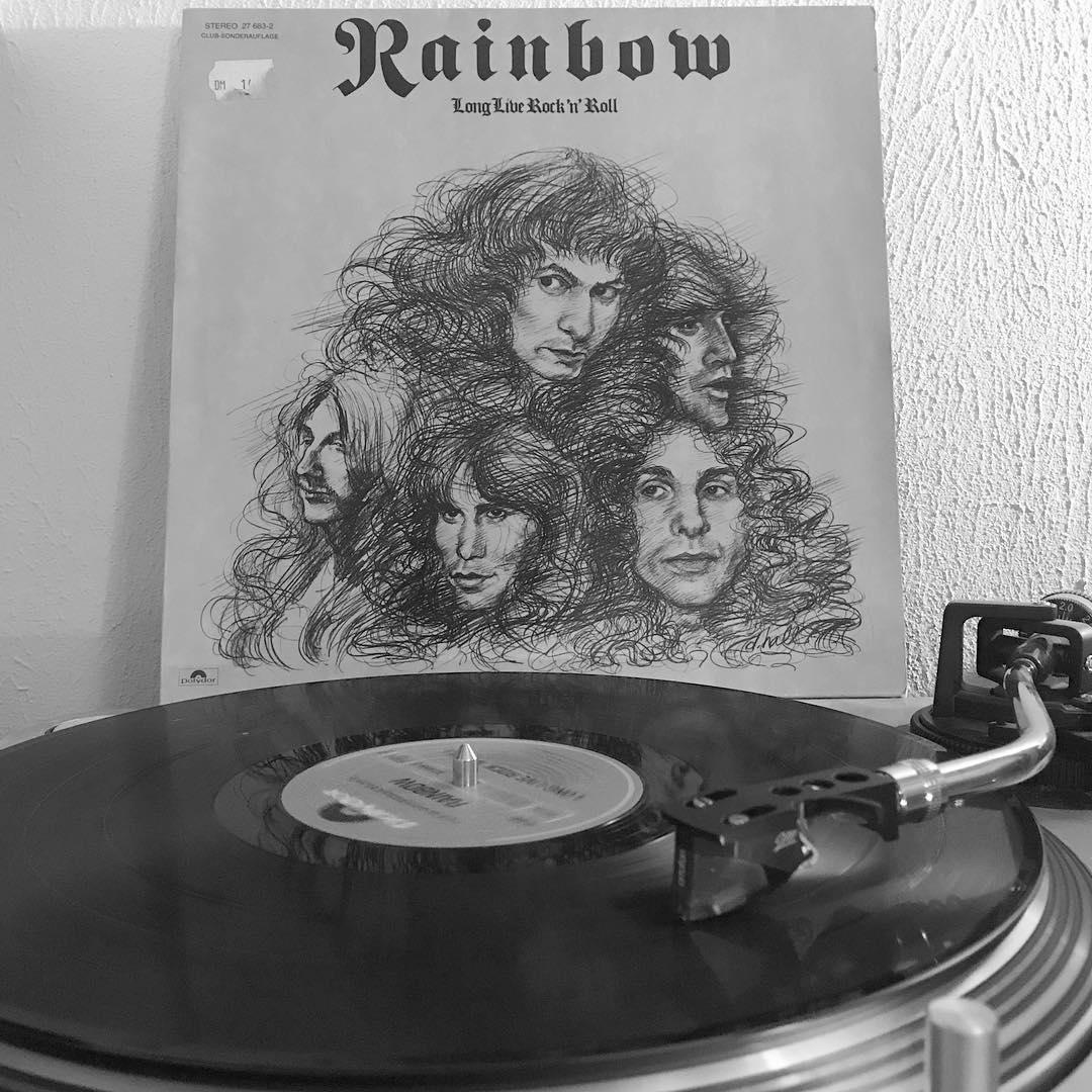 Long live Rock 'n' Roll #Rainbow #OnMyTurntable #NowSpinning #Vinylgram #RockNRoll #1978