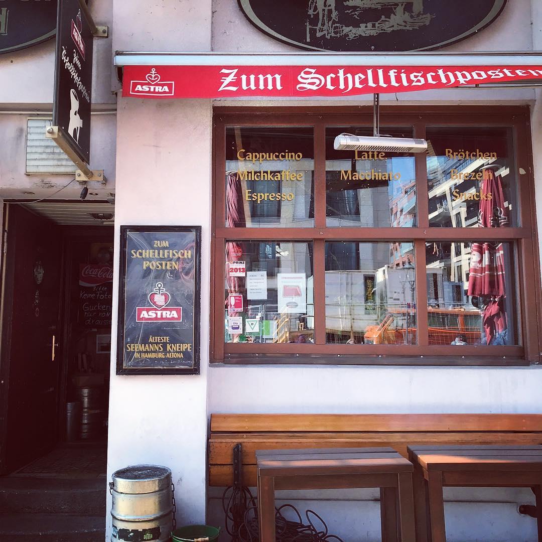 Tourismshizzle No.5 #Hamburg #LoveHamburg #ZumSchellfischposten #InasNacht