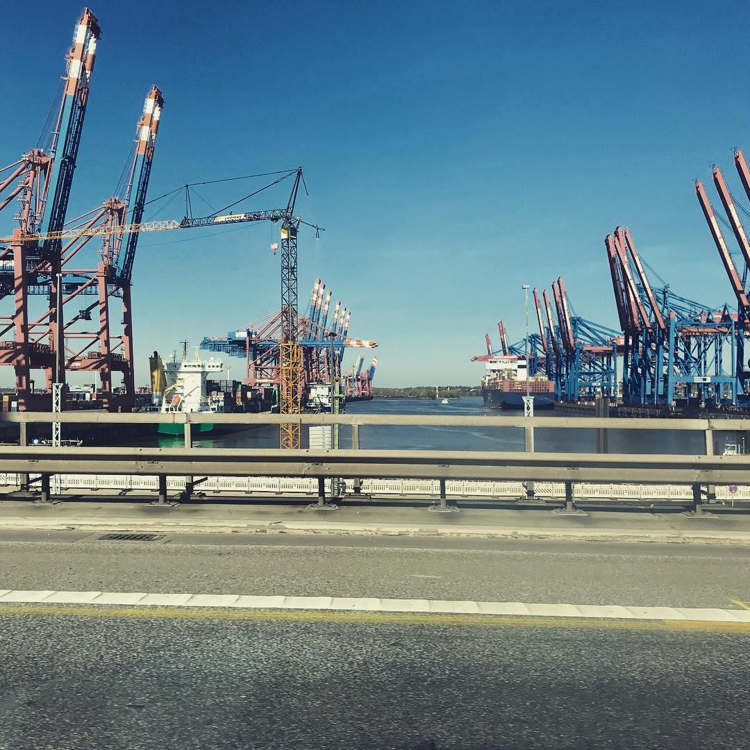 Tourismshizzle No.6 Tschüss #Hamburg war wieder schön bei dir. #LoveHamburg #Hafengiraffen