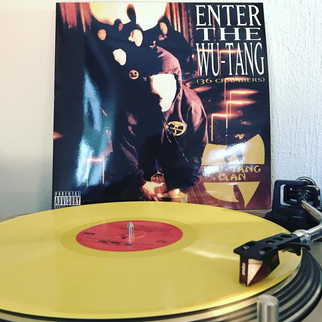 Enter the Wu-Tang (36 Chambers) @wutangclan #OnMyTurntable #NowSpinning #Vinylgram #33rpm #HipHop #ShaolinShadowBoxing