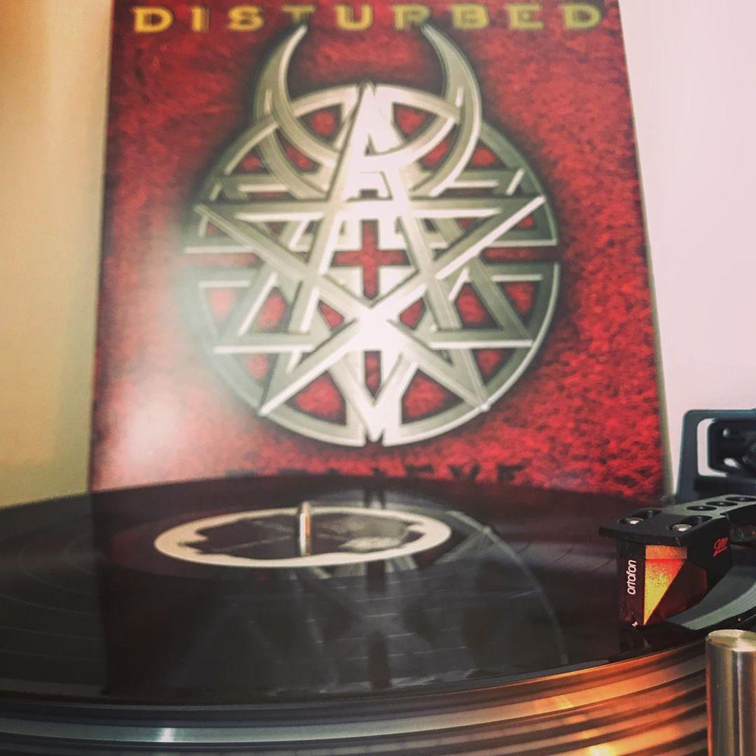 Believe #Disturbed #HardRock #Rock #NowSpinning #OnMyTurntable #Vinylgram #33rpm