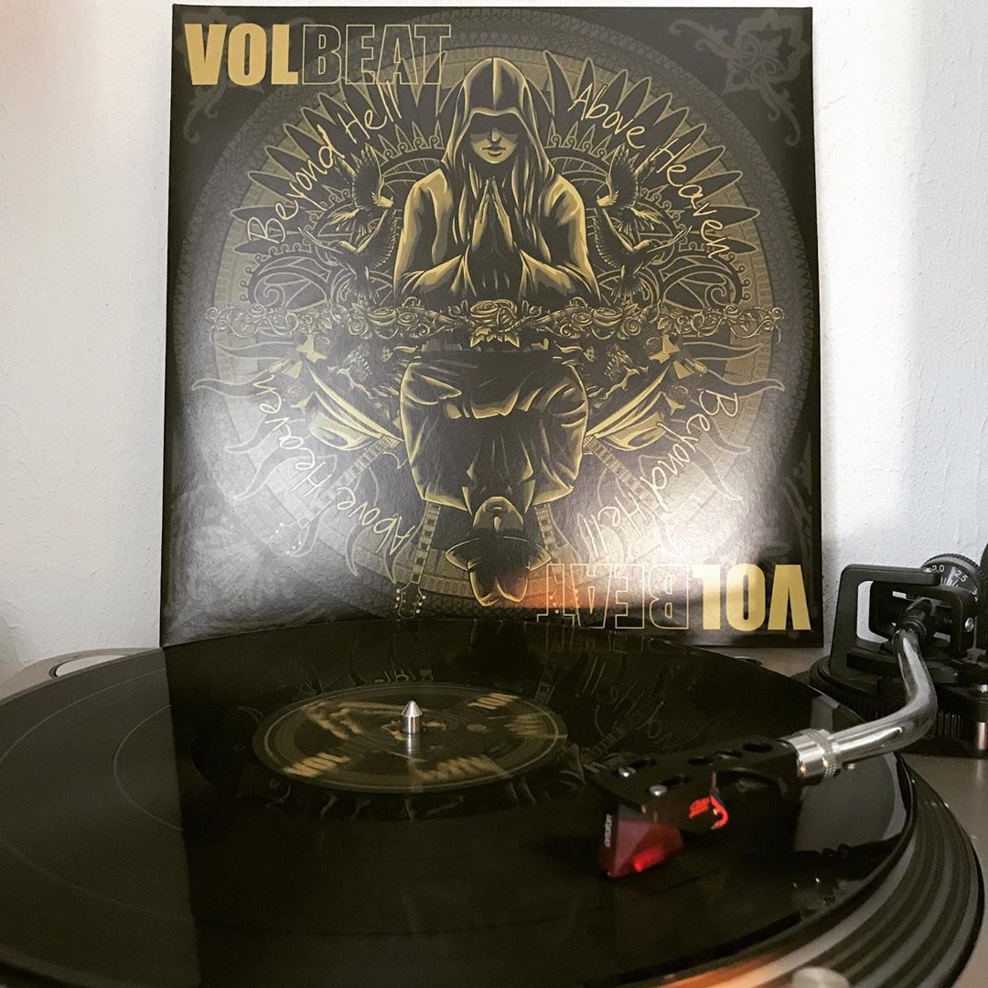 Beyond Hell / Above Heaven #Volbeat #OnMyTurntable #NowSpinning #Vinylgram #Rock #RockNRoll