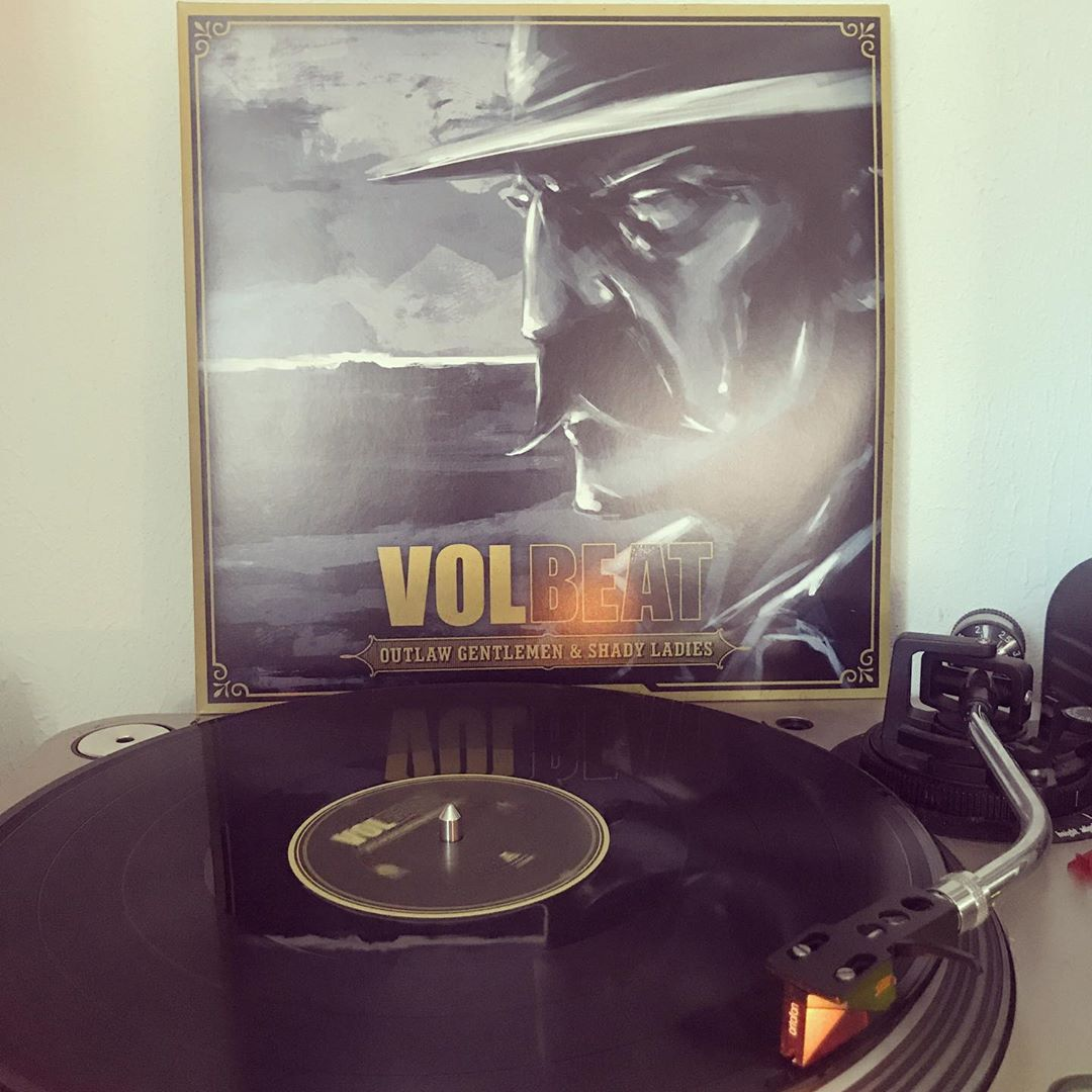 Outlaw Gentlemen & Shady Ladies #Volbeat #OnMyTurntable #NowSpinning #Vinylgram #Rock #RockNRoll