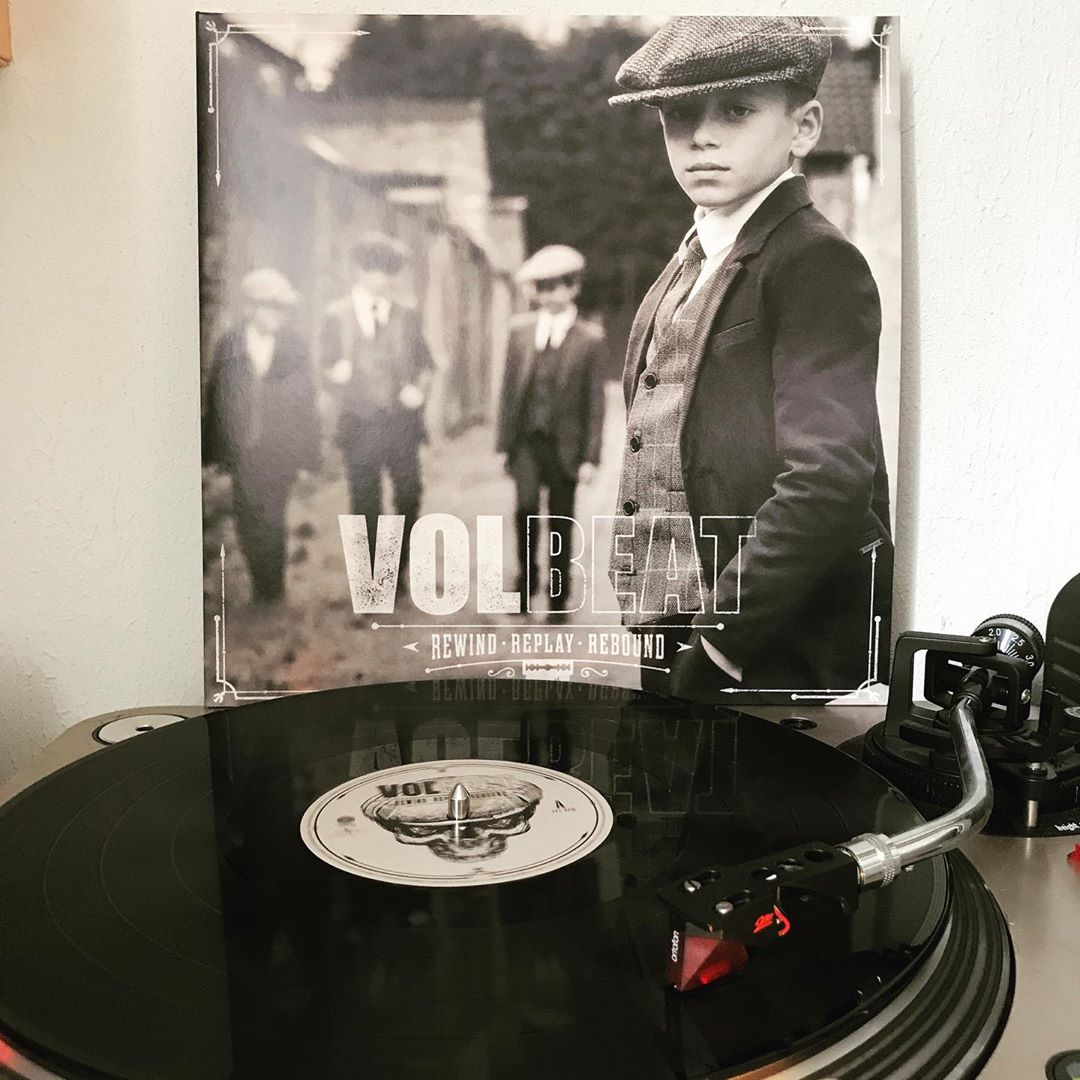 Rewind. Replay. Rebound. #Volbeat #OnMyTurntable #NowSpinning #Vinylgram #Rock #RockNRoll