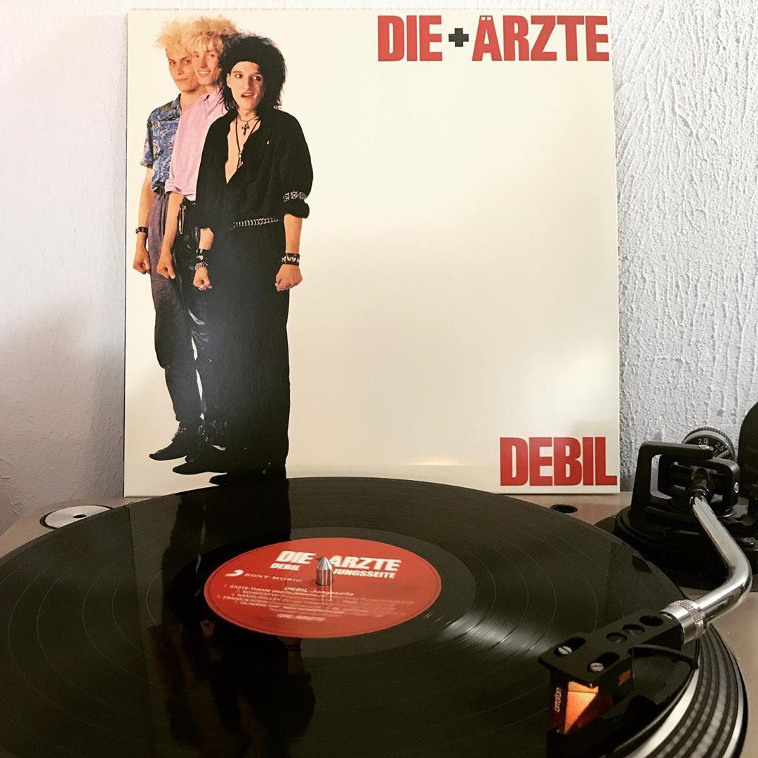 Debil #DieAerzte #OnMyTurntable #NowSpinning #Vinylgram #33rpm #PunkRock #BelaB #FarinUrlaub #Sahnie