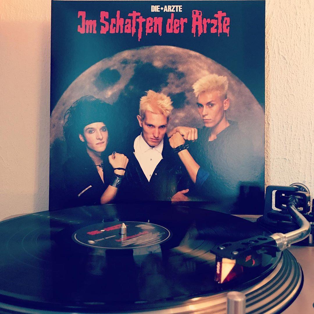 Im Schatten der Ärzte #DieAerzte #OnMyTurntable #NowSpinning #Vinyl #33rpm #Vinylgram