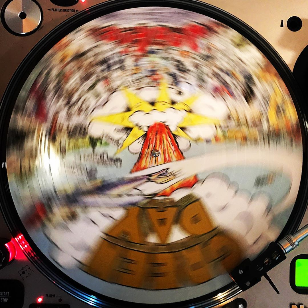 Dookie #GreenDay #OnMyTurntable #NowSpinning #PunkRock #33rpm #PictureDisc #ColoredVinyl
