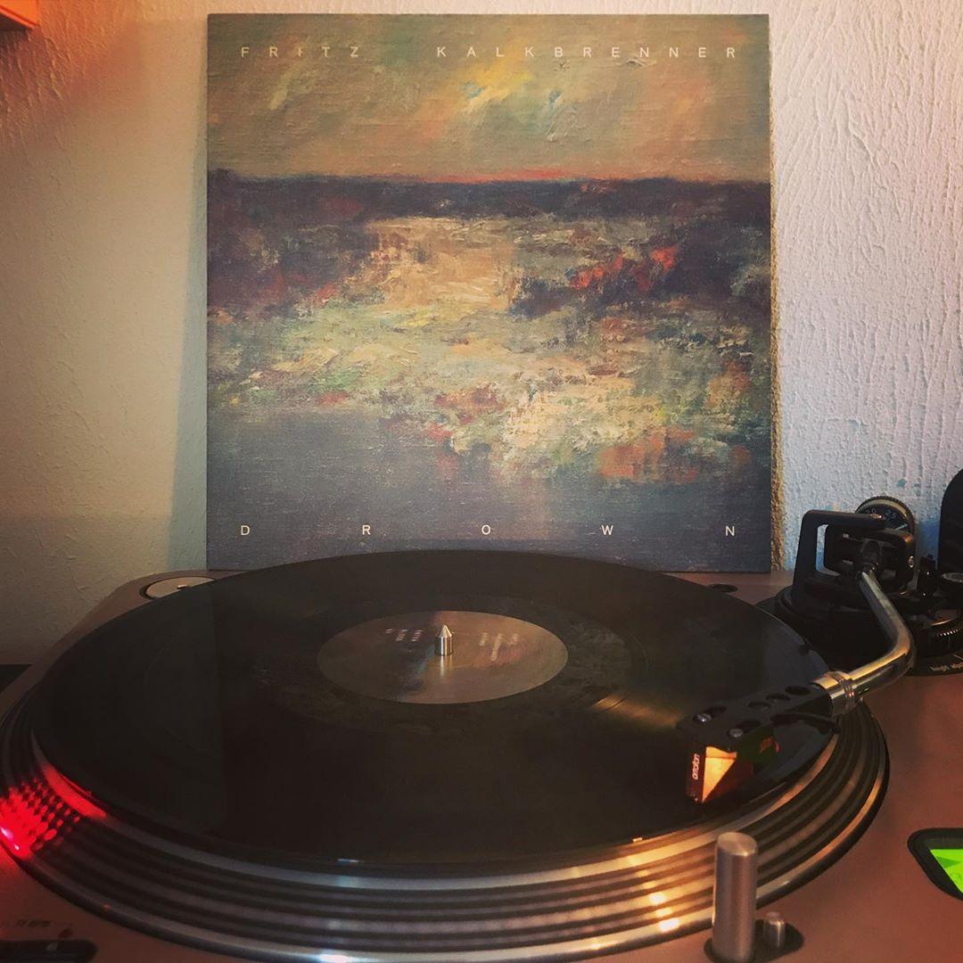 Drown #FritzKalkbrenner #OnMyTurntable #NowSpinning #33rpm #Vinylgram #StayAtHome