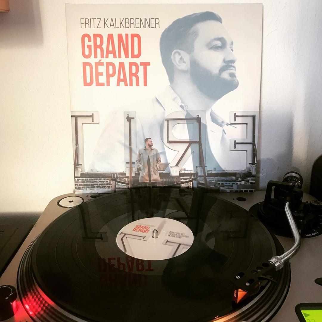 Grand Départ #FritzKalkbrenner #OnMyTurntable #NowSpinning #33rpm #Vinylgram #StayAtHome