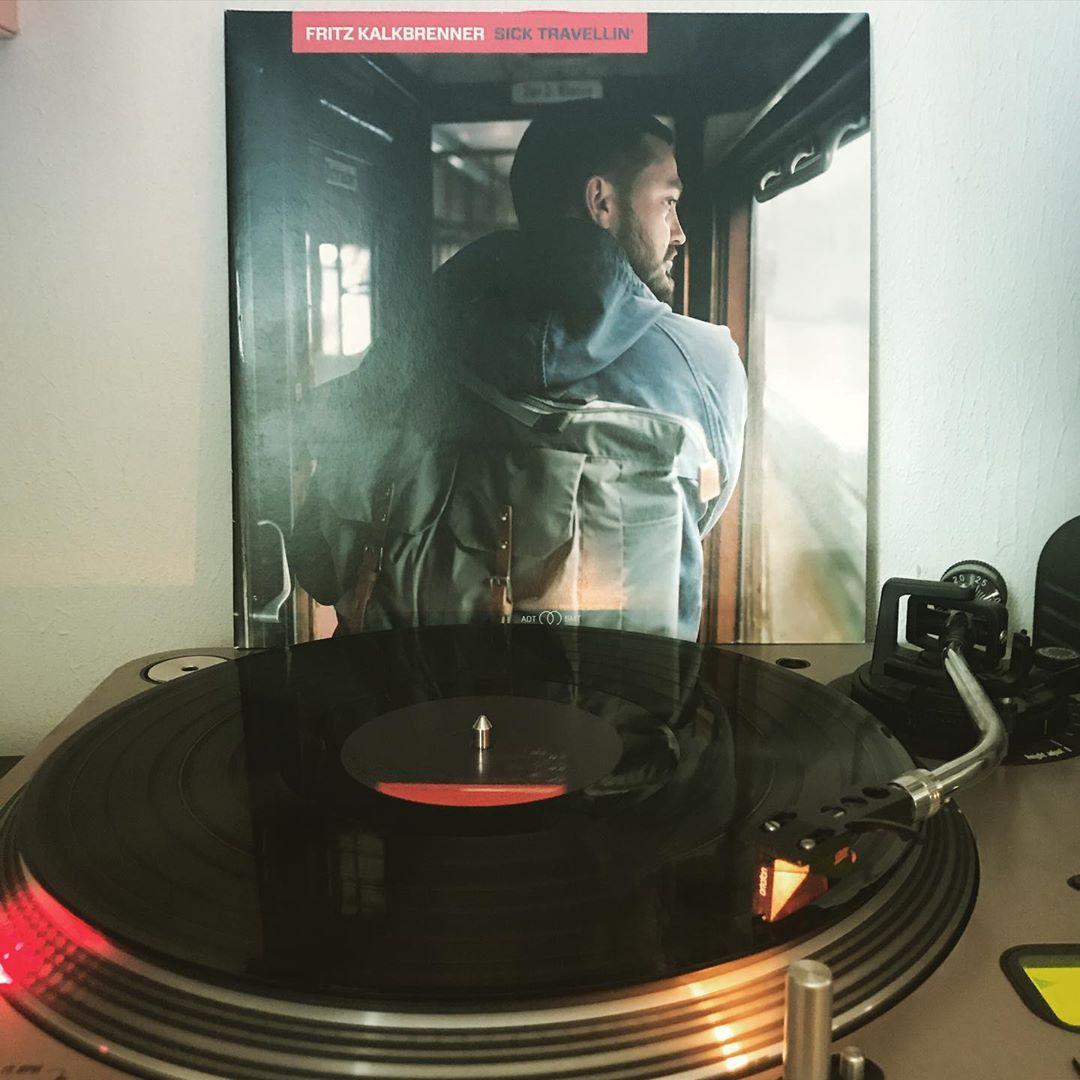Sick Travellin' #FritzKalkbrenner #OnMyTurntable #NoSpinning #33rpm #Vinylgram #StayAtHome